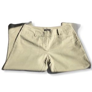 New York & Co. Stretch Khaki Capri Pants Size 0